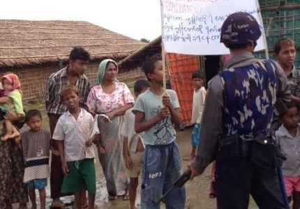 سكان مخيمات الروهنجيا يعيشون في خوف وجوع ومرض