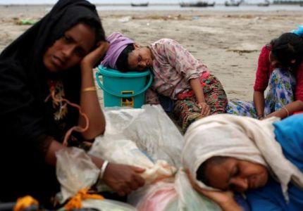 بنجلادش تسعى إلى دعم دولي لنقل الروهينجا إلى جزيرة نائية