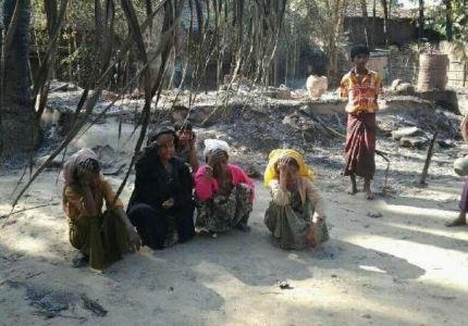 Eyewitness accounts point to a government cover up of a  massacre in Myanmar