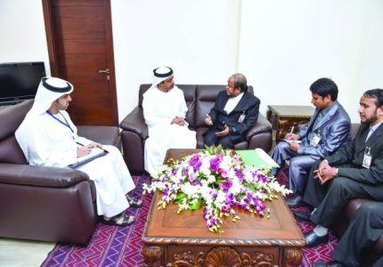 عبدالله بن زايد يلتقي وفد منظمة التضامن لحقوق الروهنجيا