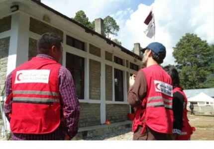 قطر الخيرية تنفذ مشاريع إغاثية للاجئي الروهينغيا بإندونيسيا