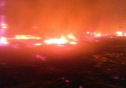 متطرفون بوذيون يحرقون سوقا للروهنغيا في بوثيدونغ
