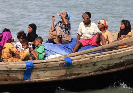 غرق 3 وإنقاذ 27 إثر انقلاب قارب مهاجرين غير شرعيين قبالة إندونيسيا