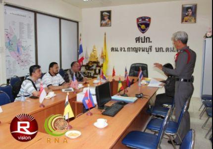 تقرير 4 : الإعلام الروهنجي يزور مركز اعتقال اللاجئين الروهنجيين في جنوب غرب تايلاند