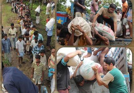 بنغلادش تمنع منظمة إغاثية تركية من تقديم مساعداتها للاجئي أراكان
