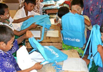 """""""يونيسيف"""": قيود ميانمار على المساعدات تضرّ بأطفال آراكان"""