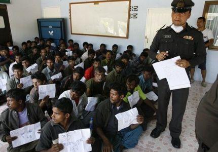 شرطة ماليزيا تلقي القبض على دفعة جديدة من اللاجئين الروهنجيين