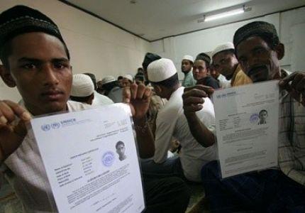 روهنجيون في إندونيسيا يطلبون من مفوضية اللاجئين إعادة توطينهم في بلد ثالث