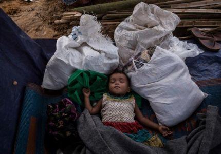 تضاعف معدل سوء التغذية المهدد للحياة بين أطفال الروهينجيا