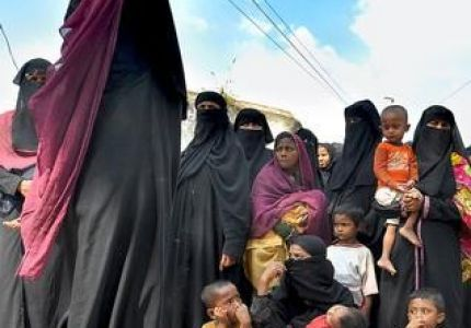A woollen relief for Rohingya refugees