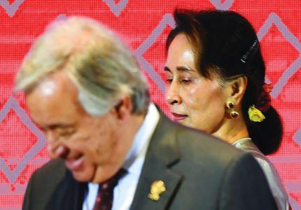 غوتيريس يحث ميانمار على تأمين عودة الروهينغا