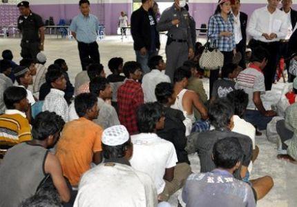 السلطات التايلندية تنقل لاجئين روهنجيين إلى أنحاء متفرقة من البلاد