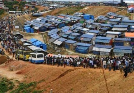 الروهينغا يفرون من المخيمات خشية اجبارهم على العودة الى بورما