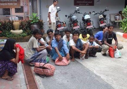 العثور على 102 من الروهنجيا اللاجئين في تايلند