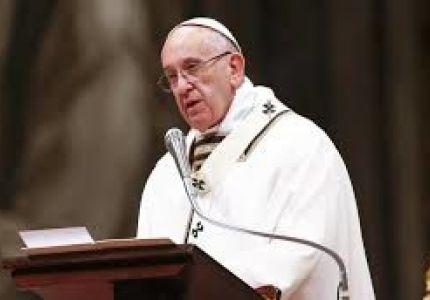 البابا ينتقد معاملة مسلمى الروهينجا فى ميانمار
