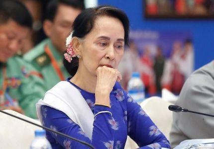 """مركز """"سيتي أوف لندن"""" يسحب جائزة من زعيمة ميانمار"""