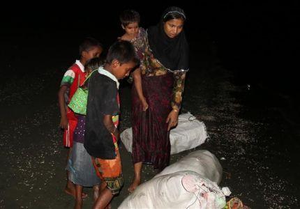الأناضول ترصد فرار الروهنغيا إلى بنغلاديش
