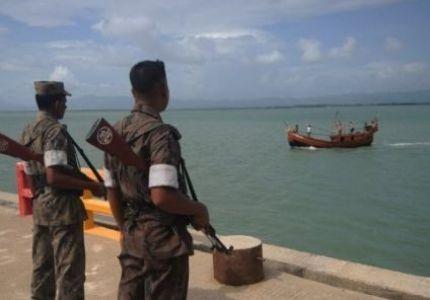 بنجلاديش تقرر بناء سور حديدي على امتداد حدودها مع بورما