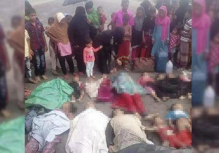 مصرع 19 من الروهينغيا إثر غرق قاربهم جنوبي بنغلاديش