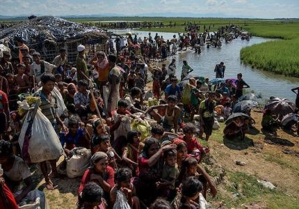ميانمار تعتقل 106 روهنغيين أثناء فرارهم من أراكان