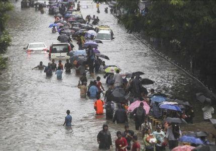 مصرع 31 بسبب الفيضانات في ميانمار
