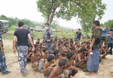 الشرطة التايلاندية تعتقل 180 مهاجرًا من مسلمي الروهنجيا