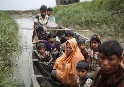الهجرة الدولية: 100 ألف أراكاني ينتظرون العبور إلى بنغلاديش