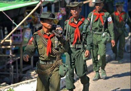 مقتل ضابط بورمي على أيدي شباب روهنجيين بعد الاعتداء عليهم