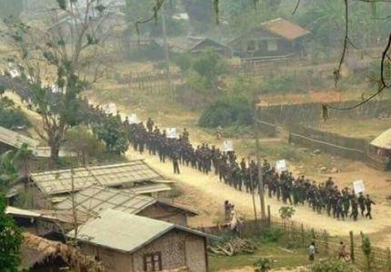 ميانمار ترسل قوات إلى منطقة ذات أغلبية مسلمة بعد هجمات عنيفة