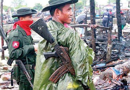 حرب جديدة ضد مسلمي الروهـينغا في ميانمار