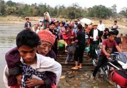 """""""الحرب المنسية"""".. الأقلية المسيحية في مواجهة جيش ميانمار"""