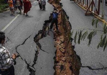 زلزال قوي يضرب شمال شرقي الهند يلحق بورما وبنجلاديش