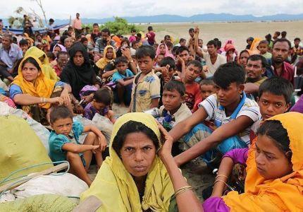 جرح فتى من الروهينغا بإطلاق نار على الحدود بين بنغلاديش وميانمار