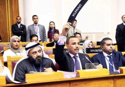 الغانم يُدرج أزمة الروهينغا في مؤتمر بطرسبرغ