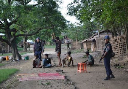 Arbitrary arrest in Maungdaw Township