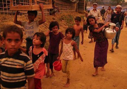 بريطانيا ترسل مساعدات إلى اللاجئين الروهينغا في بنغلاديش