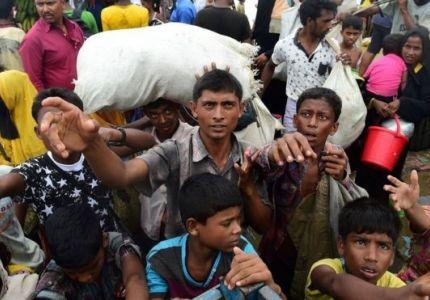 الشيخة حسينة رئيسة وزراء بنغلاديش تطالب سو تشي بإعادة اللاجئين إلى ميانمار