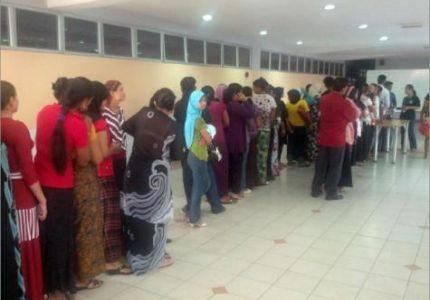 المفوضية العليا للاجئين تجري عملية إحصاء للاجئين في ماليزيا