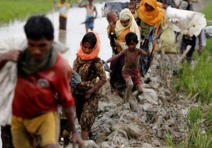 الأمم المتحدة تتوقع فرار نحو 300 ألف من الروهينجا إلى بنجلادش
