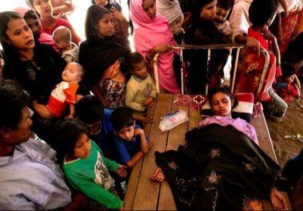 مراسل الوكالة: عصابة بوذية قتلت أمس أسرة روهنجية واغتصبت امرأة مسلمة
