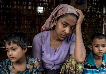 نساء الروهينغا ضحايا جشع المهربين