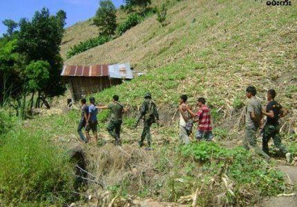 أراكان: القبض على ثلاثة من الروهنجيين بتهمة حيازة هاتف محمول