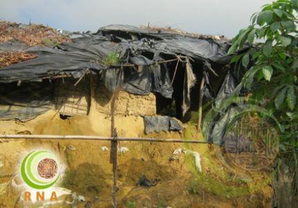 Sudden Rain Gusts Up Rohingya Refugee Camp In Bangladesh