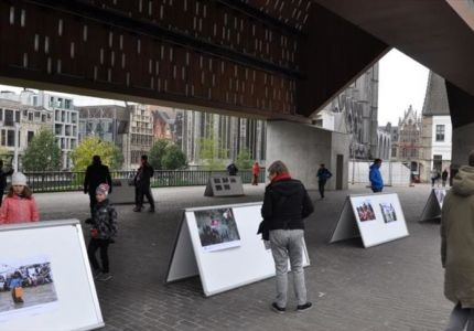 بلجيكا.. معرض صور التقطها مراسلو الأناضول تحكي مآسي الروهنغيا