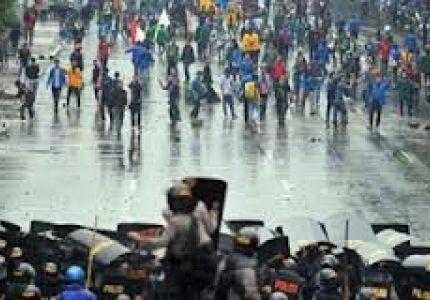 """اشتباكات في إندونيسيا للإفراج عن معتقلين من """"الروهينجيا"""""""