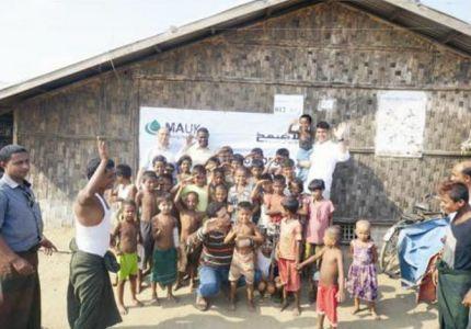 """""""عفيف الخيرية """" تقدم مساعدات لـ 170 ألف لاجئ بميانمار"""