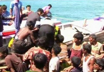 تايلاند ترفض استقبال قاربين على متنهما 340 من مهاجري الروهنجيا
