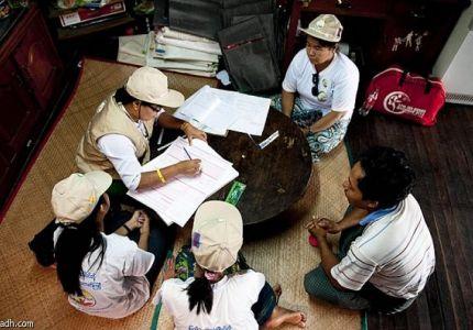 بورما تكتشف ان عدد سكانها أقل بـ9 ملايين مما كان متوقعا