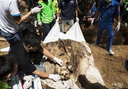 الشرطة التايلاندية تعثر على مخيمات جديدة للاتجار بالبشر