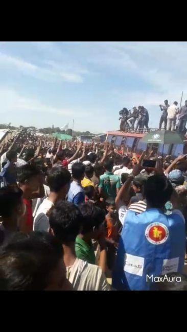 آلاف الروهنجيا يرفضون عودتهم إلى ولاية أراكان لفشل حكومة ميانمار تقديم ضمانات واضحة